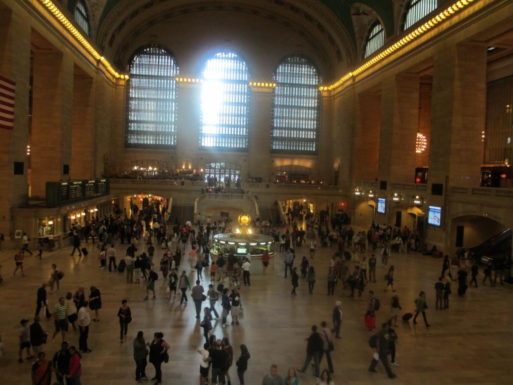 foto della stazione Grand Central Terminal, New York