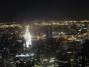 New York - vista dall'Empire State Building