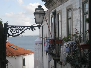 Lisbona, quartiere di Alfama