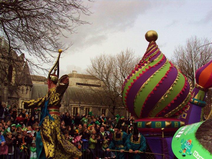 Parata di San Patrizio, Dublino, 17 marzo