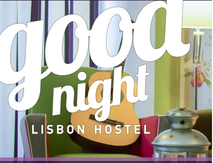 Goodnight Hostel, Lisbona - sito web