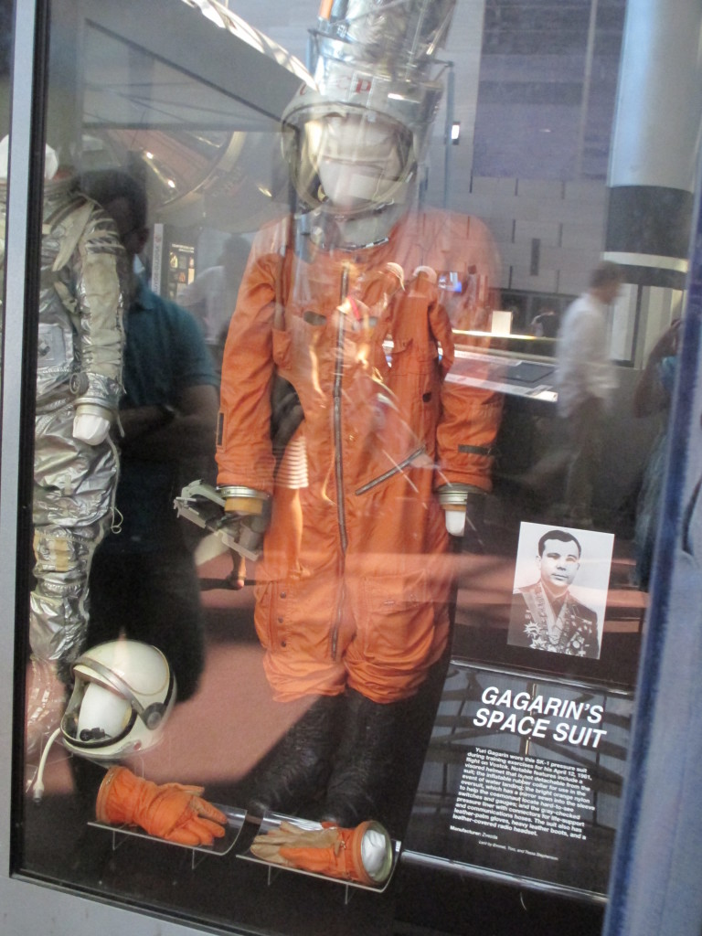 Tuta spaziale di Yuri Gagarin, Air and Space Museum, Washington DC