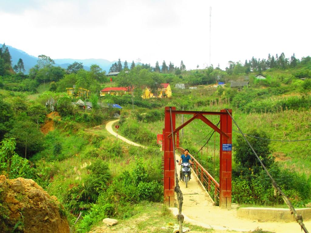 villaggio a Sapa, Vietnam