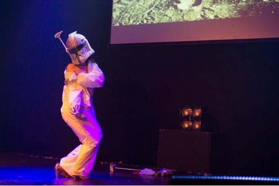 Intergalactic Kung Fu, il mio burlesque solo debut - copyright Johanna King Photography
