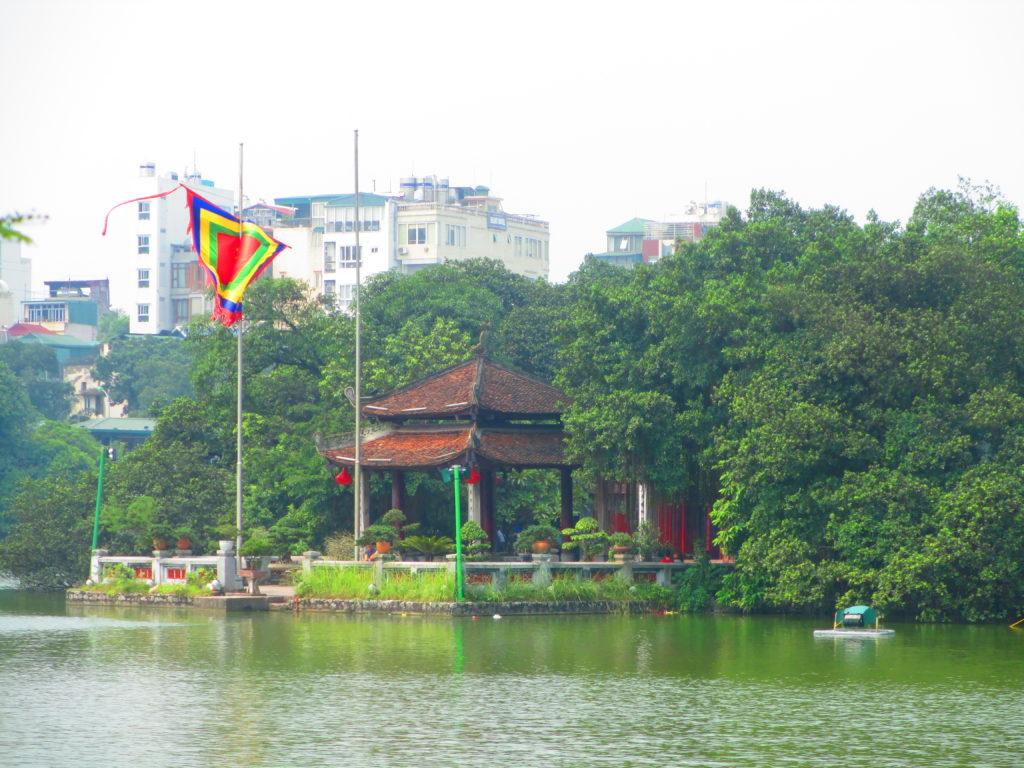 Lago Hoam Kiem ad Hanoi, Vietnam