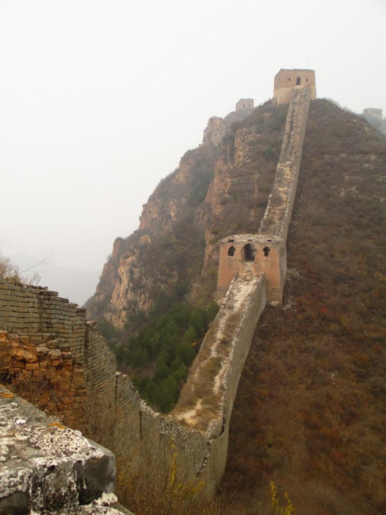 Grande muraglia cinese, sezione di Wohushan