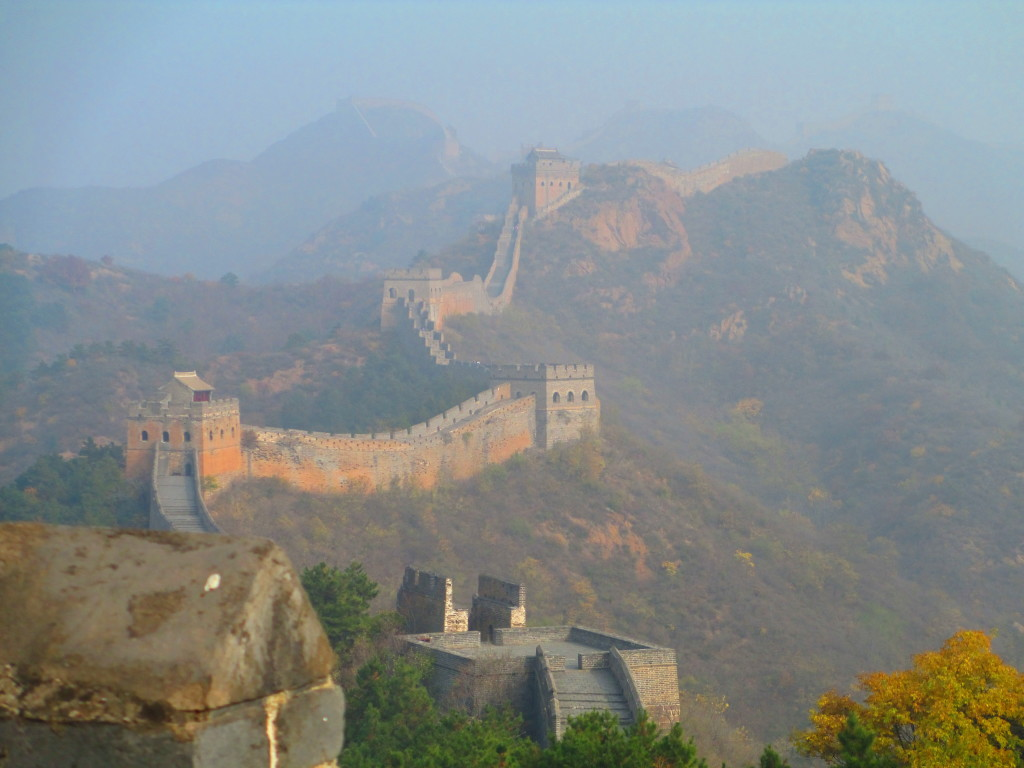 Grande muraglia cinese, sezione di Jinshanling