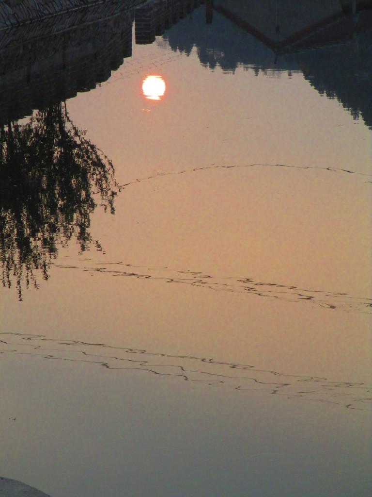 tramonto a Gubeikou