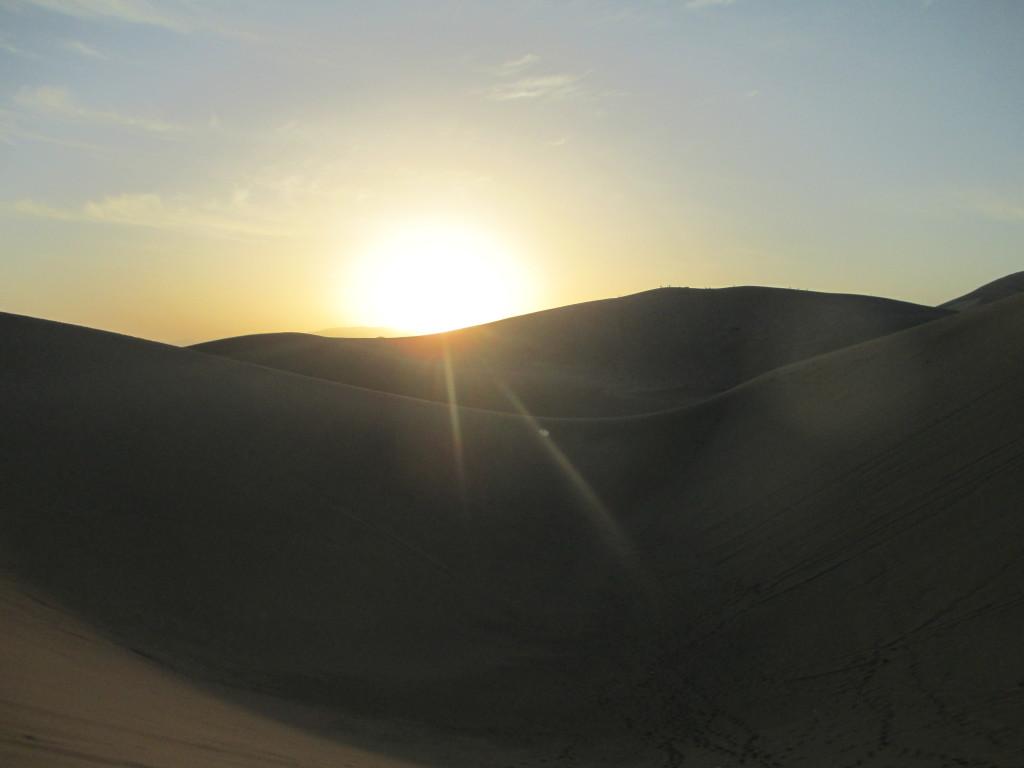 alba nel deserto dei Gobi, Dunhuang