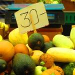 Foto della frutta e verdura di stagione