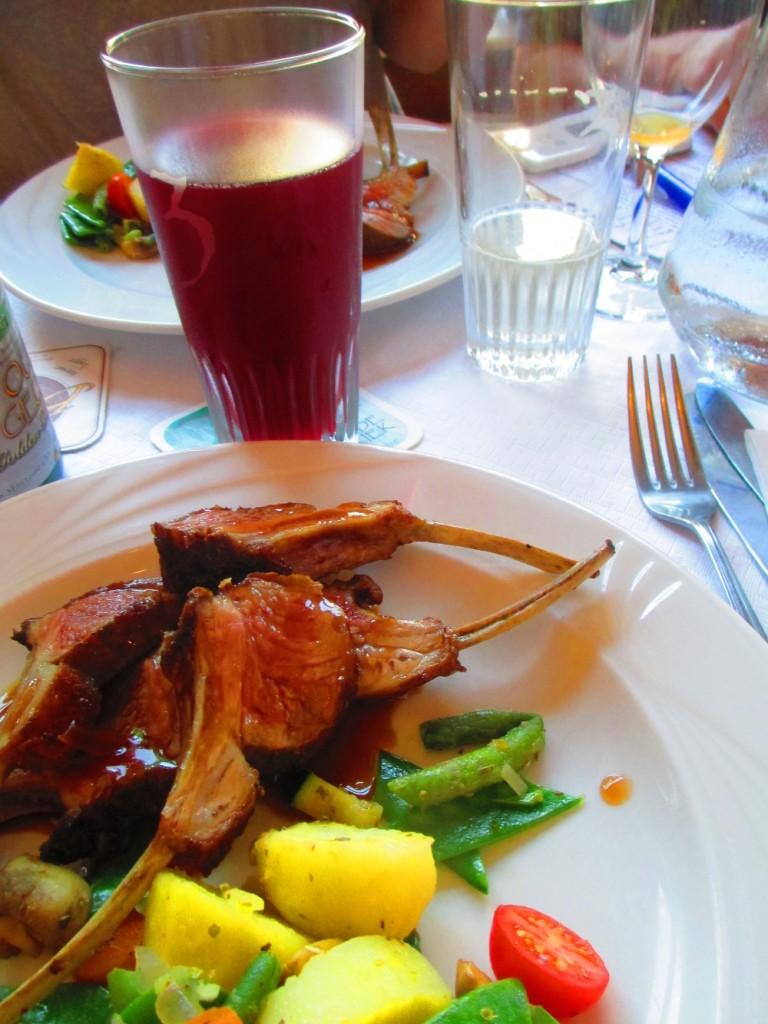 abbinamento cibo birra: carne e kriek