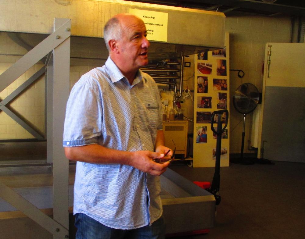 Armand, mastro birraio del birrificio 3 Fonteinen in Belgio
