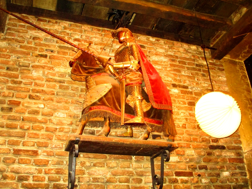 marionetta al Toone Bar di Bruxelles