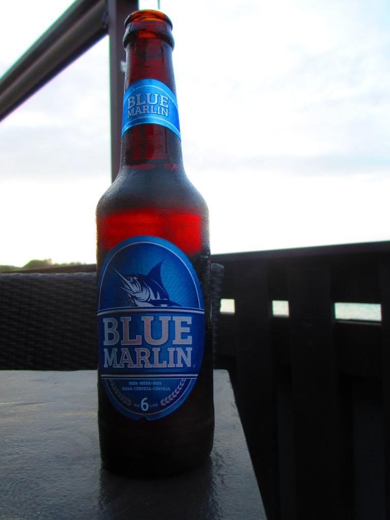 birra mauriziana Blue Marlin
