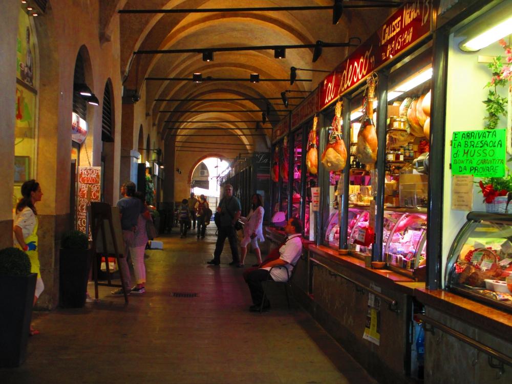 il Sottosalone, il più antico centro commerciale di Padova