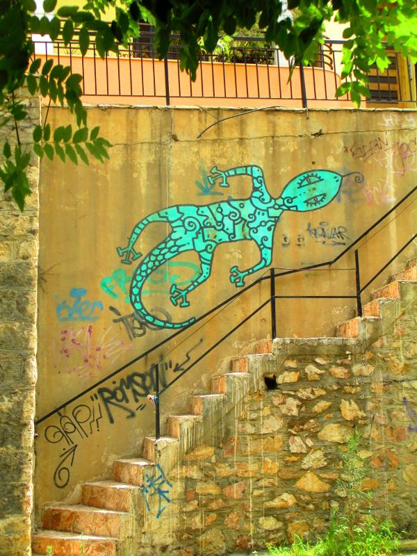 per le strade di Atene