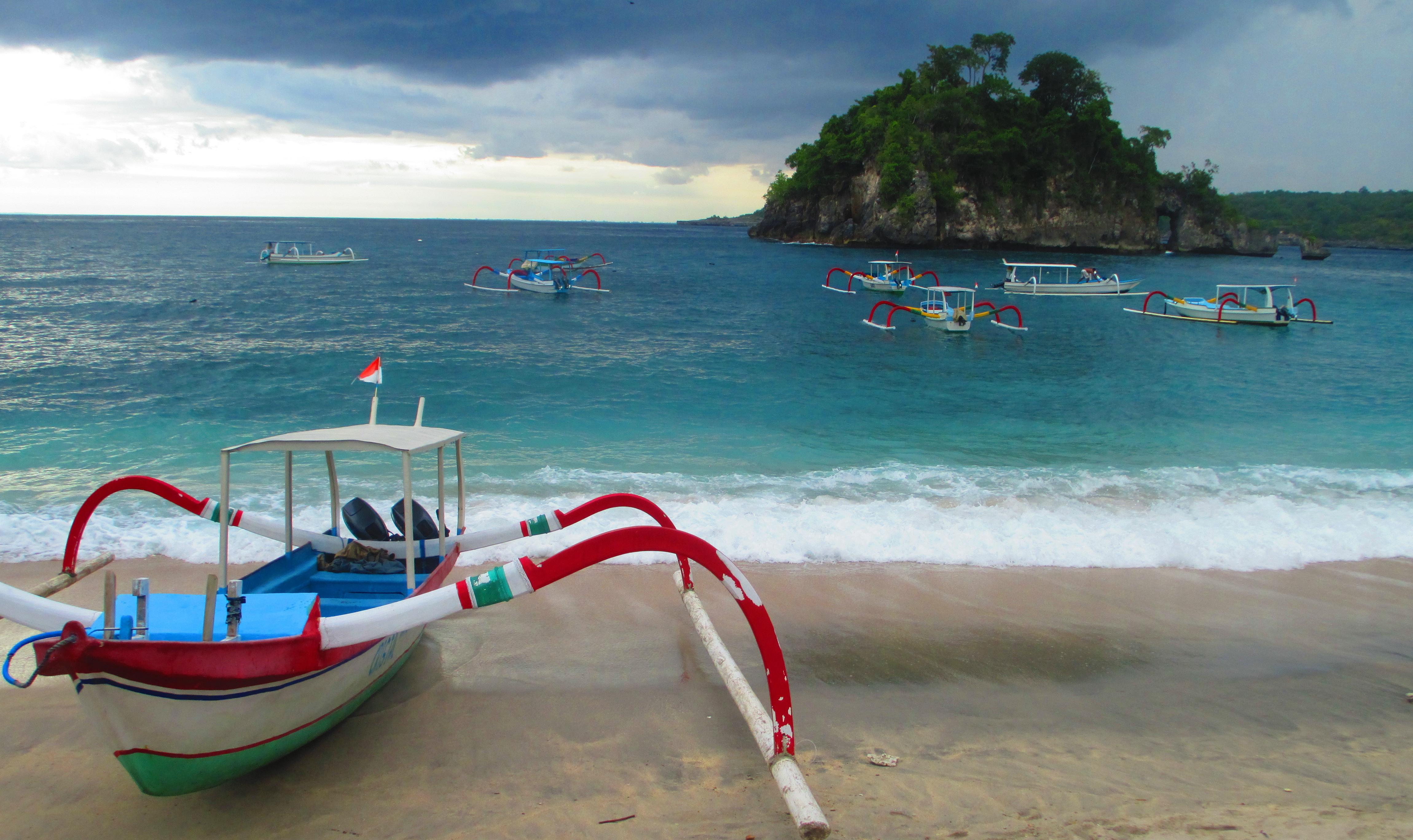 spiaggia di Nusa Penida, Bali