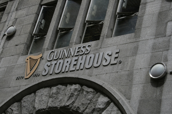 Guinness Storehouse, dettaglio