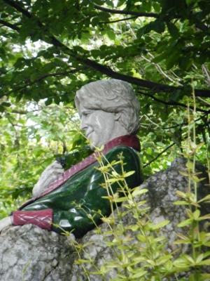 statua di Oscar Wilde a Dublino