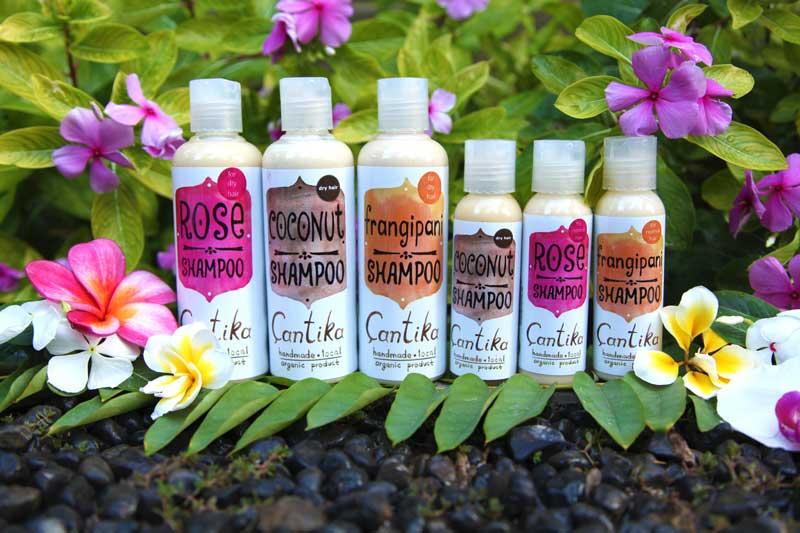 shampoo naturali Bali