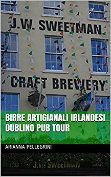 copertina libro Birre Artigianali Irlandesi Dublino Pub Tour