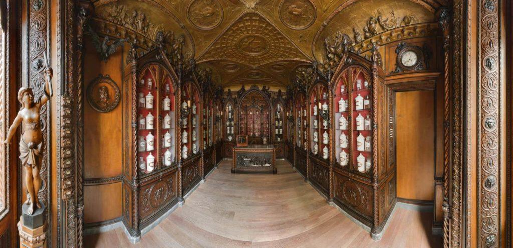 Museo Farmacia Mazzolini Giuseppucci a Fabriano