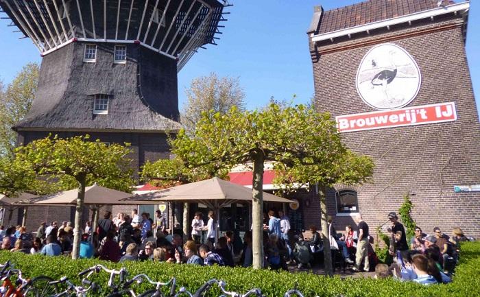 birrificio Brouwerij 't IJ ad Amsterdam
