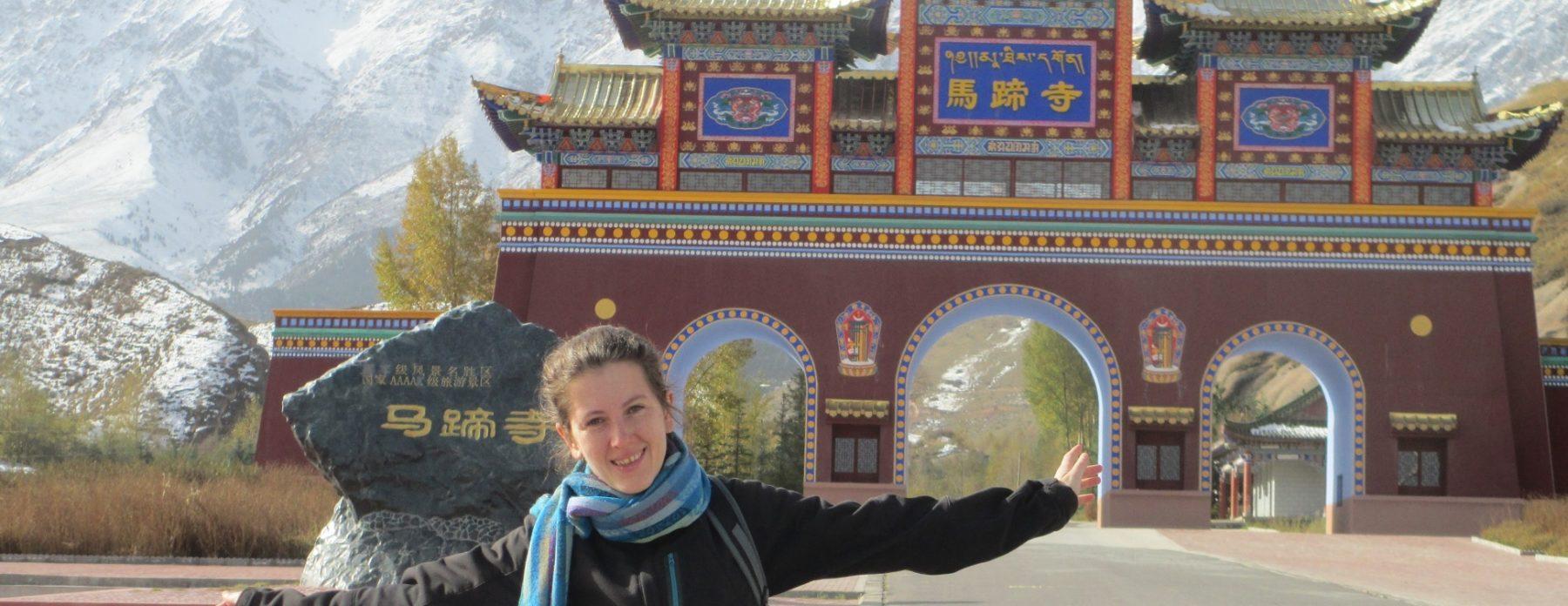 La Ragazza con la Valigia in Cina