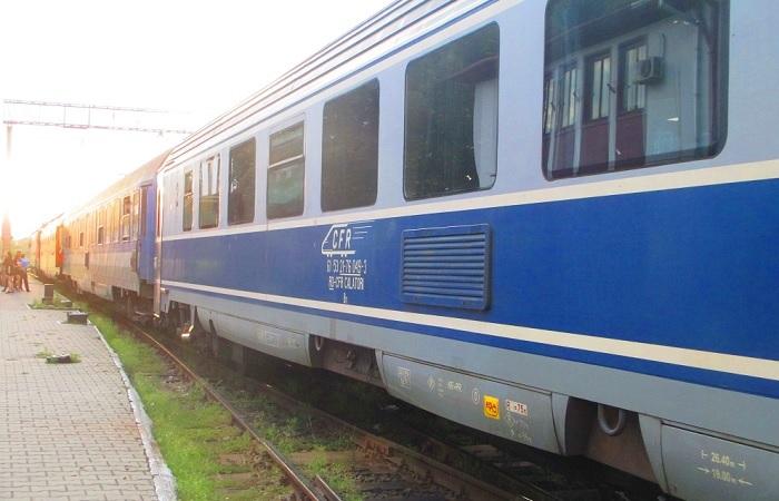 treno notturno in romania