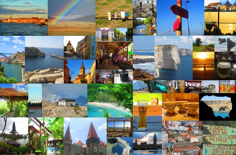 immagini di vari paesi nel mondo