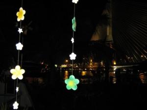Vista dal Phiman River View Hostel a Bangkok, Thailandia