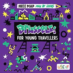mappa Use-it di Bruxelles