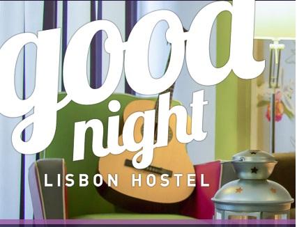Goodnight Hostel, Lisbona - sito web