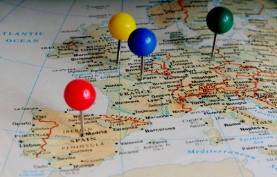 Mappa Europa, Image courtesy of Gualberto107/ FreeDigitalPhotos.net