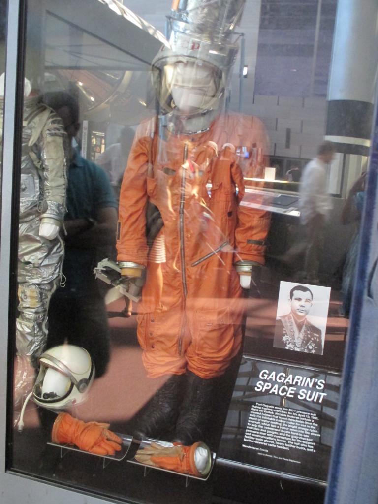 Tuta spaziale di Yuri Gagarin, Air and Space Museum, Washington DC