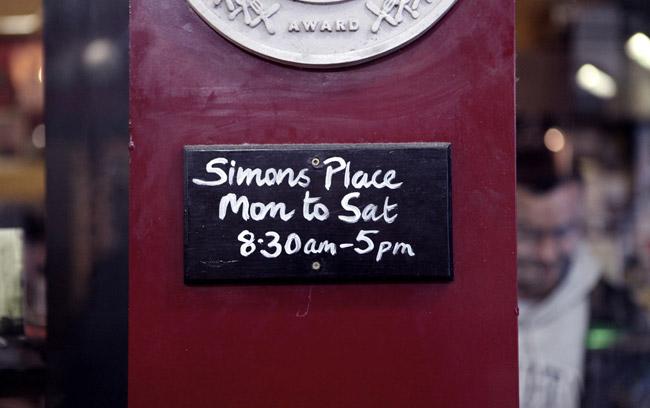 Simon's Place, Dublino