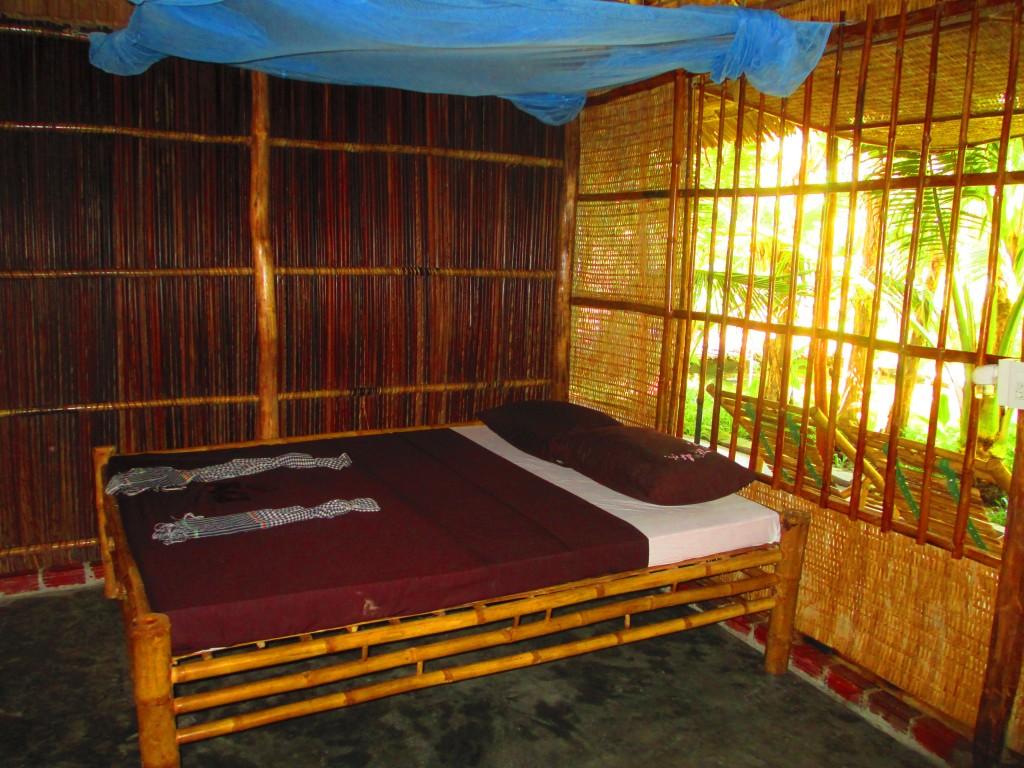 Stanza doppia alla Kim Lan Homestay, Hau Giang, Mekong Delta