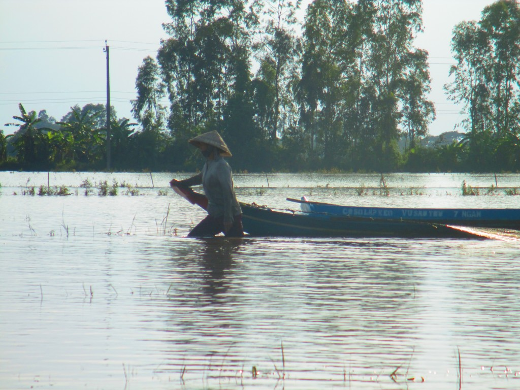 Donna a pesca, Mekong Delta