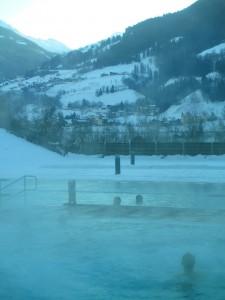 piscina termale Alpentherme Bad Hofgastein, Austria