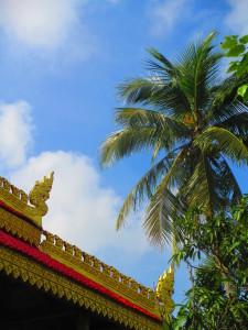 pagoda e palma in Vietnam