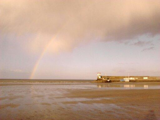 Arcobaleno a Dublino