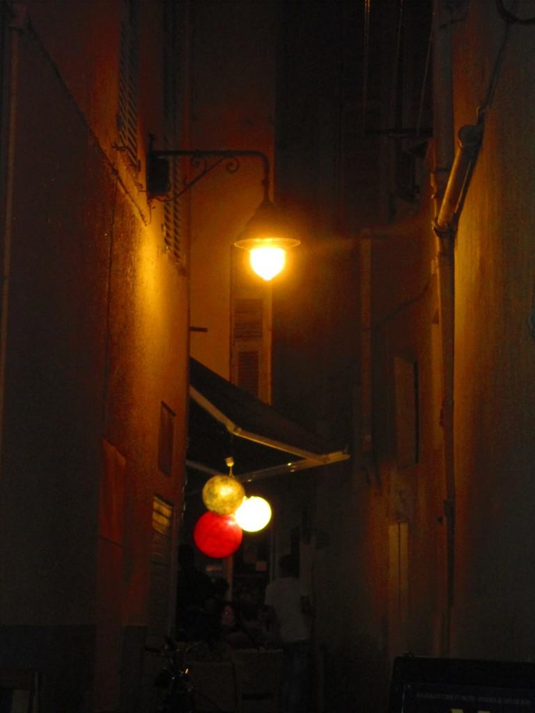 Nizza, scorcio notturno