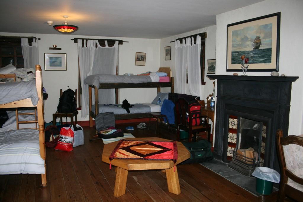 Dormitorio dell'ostello Corcreggan Mill a Dunfanaghy, in Irlanda