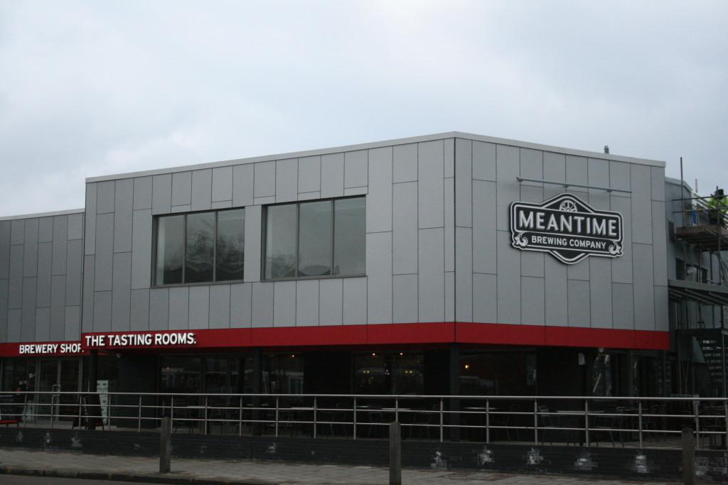 fabbrica della birra Meantime a Greenwich, Londra