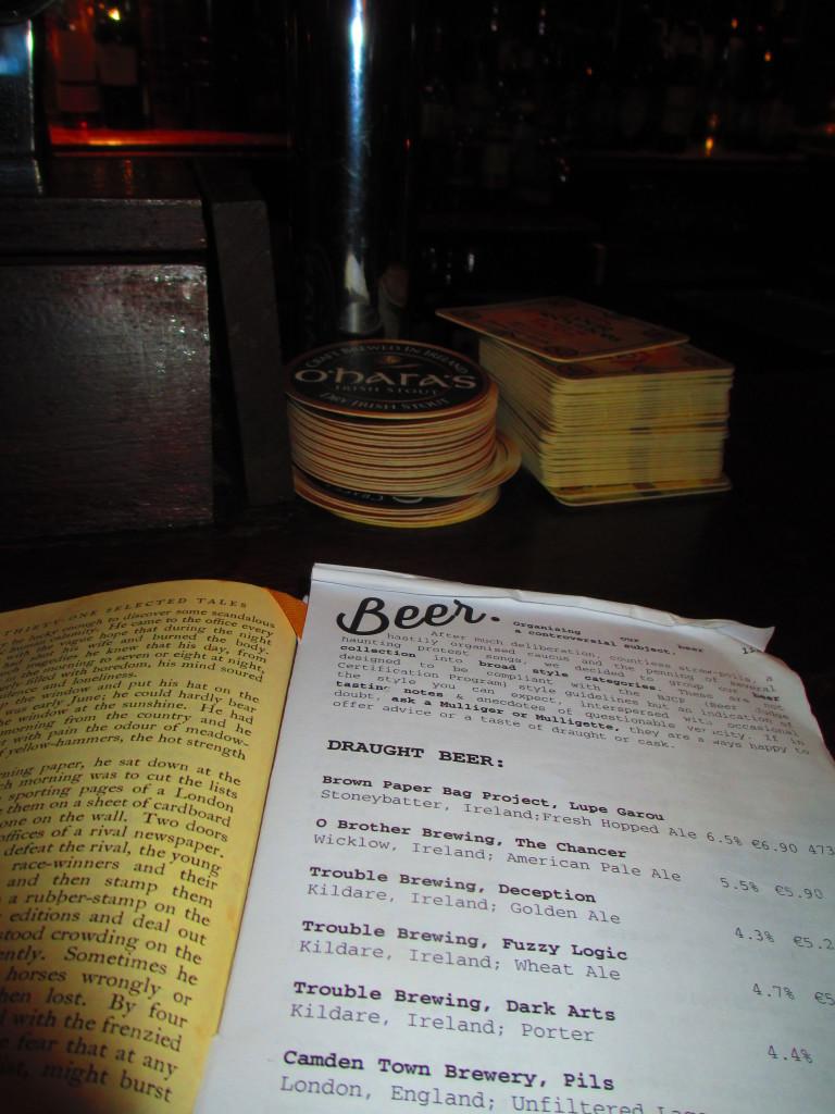 Lista birre in pub di dublino