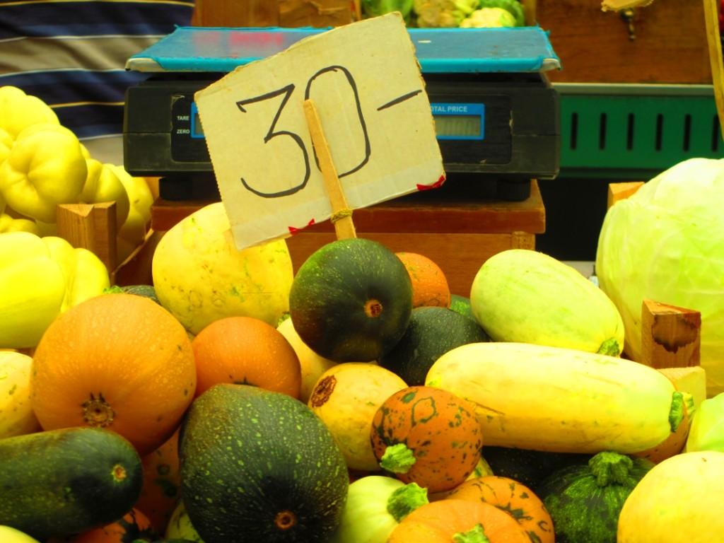 verdura al mercato di belgrado