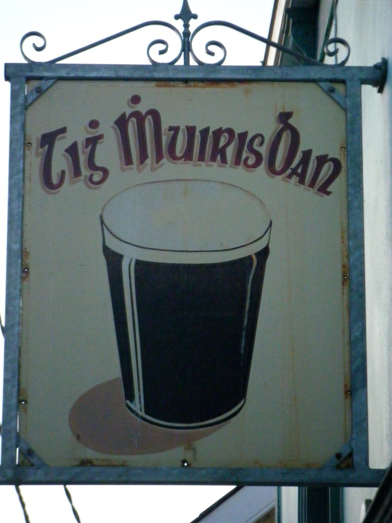 Guinness in gaelico