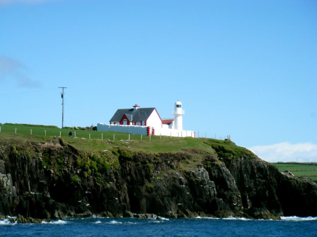 Faro a Dingle, contea di Kerry, Irlanda