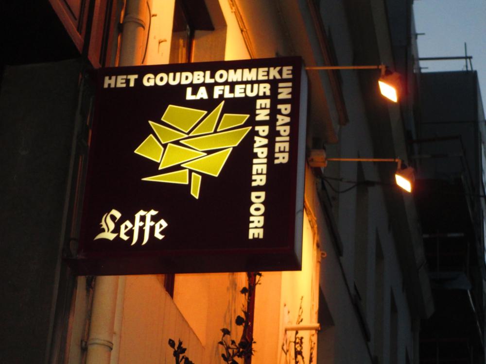 La Fleur en Papier Dorè, locale storico a Bruxelles