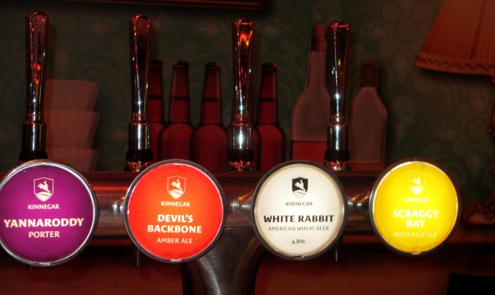 spine di birra, Kinnegar Brewing